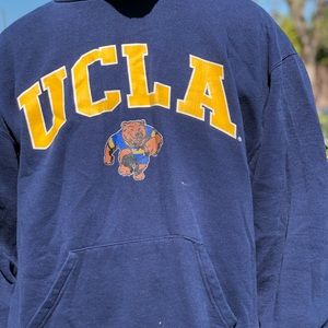 Vintage UCLA russell navy blue hoodie size xl